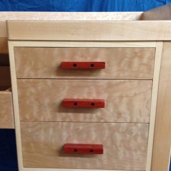 Jeweler's bench (drawer detail)